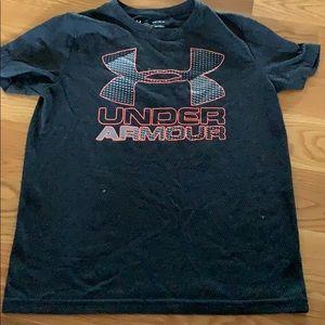 Boys Under Armour Athletic Tee